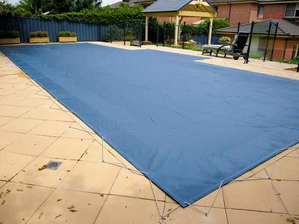 Winter Pool Shutdown Cover