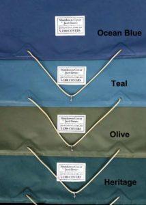 Choice of 4 tasteful colours